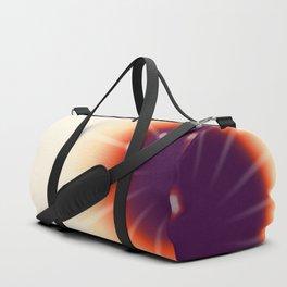 Tie and dye ultraviolet sun Duffle Bag