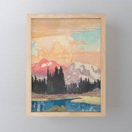 Storms over Keiisino Framed Mini Art Print
