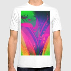 Ilusion MEDIUM Mens Fitted Tee White