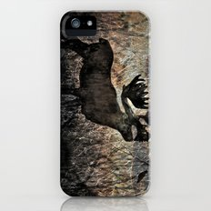 In the Woodlands, Far Far Away (amber version) Slim Case iPhone (5, 5s)