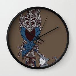 Artorias & Sif Chibi Wall Clock