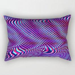 Glitch screen error Digital pixel Rectangular Pillow