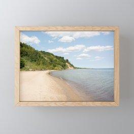 AFE Bluffer's Beach Framed Mini Art Print