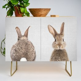 Rabbit Tail - Colorful Credenza