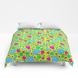 Candy chaotic storm Comforters