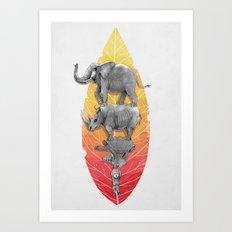 Lymph Art Print