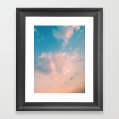 Cloudy With A Chance Framed Art Print
