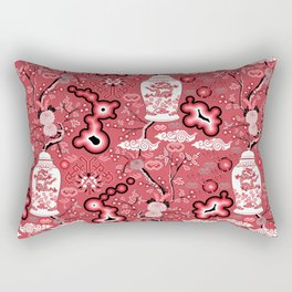 Neo Chinoiserie Rectangular Pillow