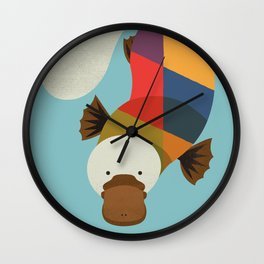 Platypus Wall Clock