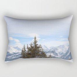 Wunderfull Snow Mountain(s) 4 Rectangular Pillow
