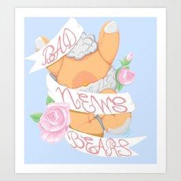 Bad News Bears - Stargazer Art Print