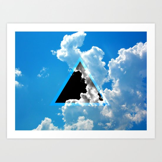 Void in the Sky Art Print