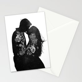 The love inside us. Stationery Cards