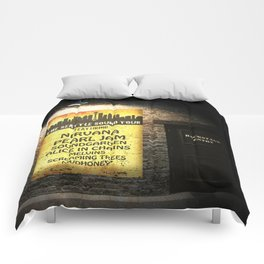 the seattle sound tour Comforters