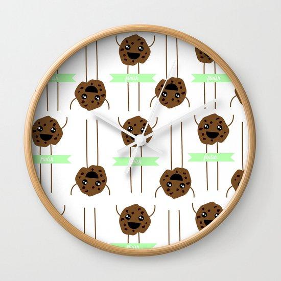 FINISH Wall Clock