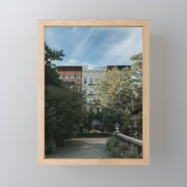 Elizabeth Street Garden, New York City Framed Mini Art Print