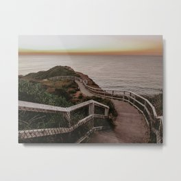 Sunrise Stroll  Metal Print