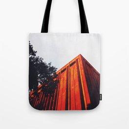 New York Orange Tote Bag