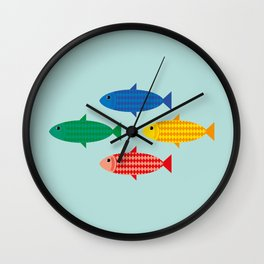 All scaled up Wall Clock