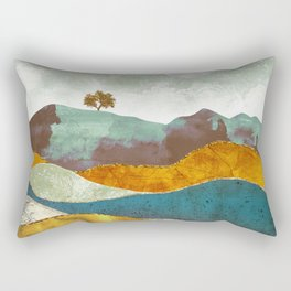 Night Fog Rectangular Pillow