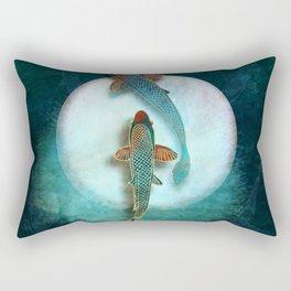 Koi & Luna Rectangular Pillow