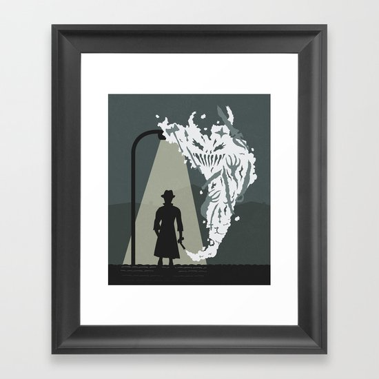 Shady Killer Framed Art Print
