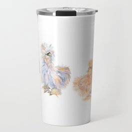 Silkie Chickens Travel Mug