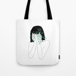 A little bit dissapointed in humanity / Illustration Tote Bag