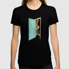 Cockroach !!!! SMALL Womens Fitted Tee Black