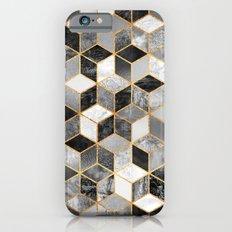 Black & White Cubes iPhone 6 Slim Case