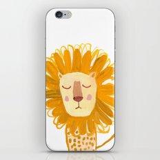 Yellow Lion iPhone & iPod Skin