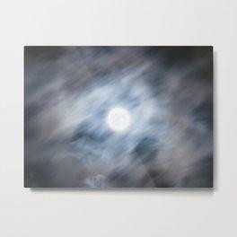 La Lune est Pleine Metal Print