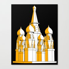 (Saint Basil's) Cathedral Canvas Print