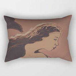 Mermaid / Sketch Rectangular Pillow