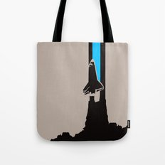 Launch me - The Final Flight of the Space Shuttle Tote Bag
