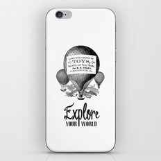 Explore Your World iPhone & iPod Skin