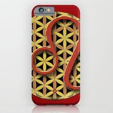 Flower of Life LEO Astrology Design iPhone 6s Slim Case