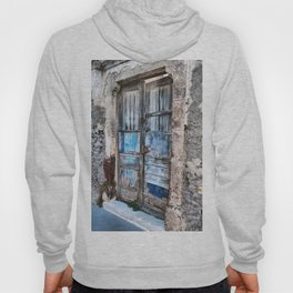 Old blue door Hoody