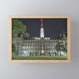 Healy Hall Framed Mini Art Print