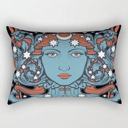 URANIA Per Aspera Ad Astra Rectangular Pillow