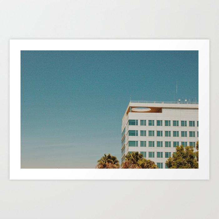 Downtown San Bernardino Art Print