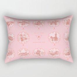 Endangered Love - Gorilla Sutra Rectangular Pillow