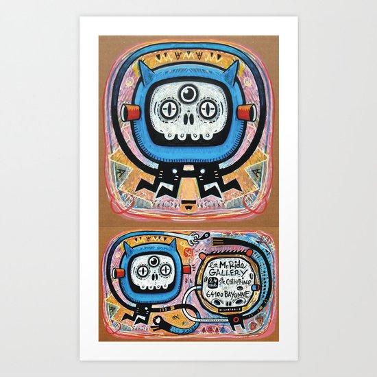Les mots du chaman Art Print
