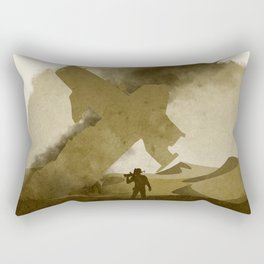 Uncharted 3 Rectangular Pillow