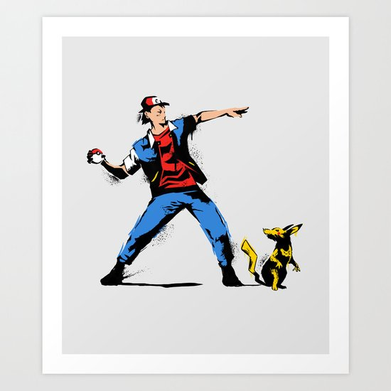 Gotta Catch em all  Art Print