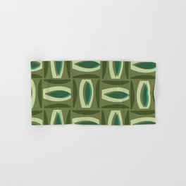 Alcedo - Green Hand & Bath Towel