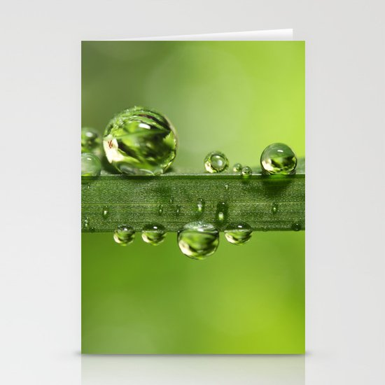 Gloriously Green Stationery Cards