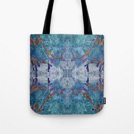 Snowflakes & Wine Tote Bag