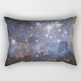 Adventures in Time and Space Rectangular Pillow