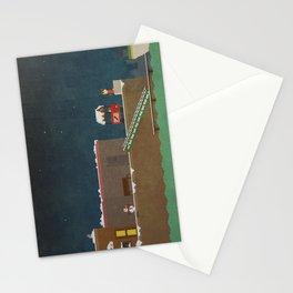Harbor Scene Stationery Cards